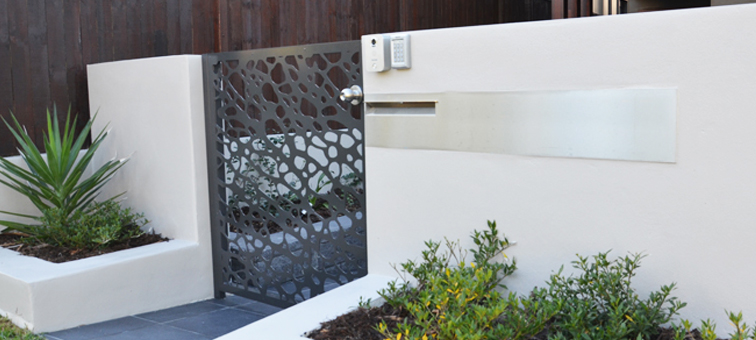 Sydney outdoor privacy screen laser cut designer screens for Garden feature screens