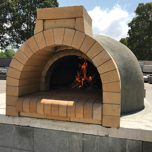 custom built pizza oven kit