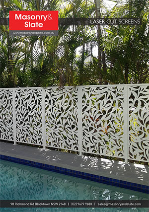 Sydney Outdoor Privacy Screen Laser Cut Amp Designer Screens